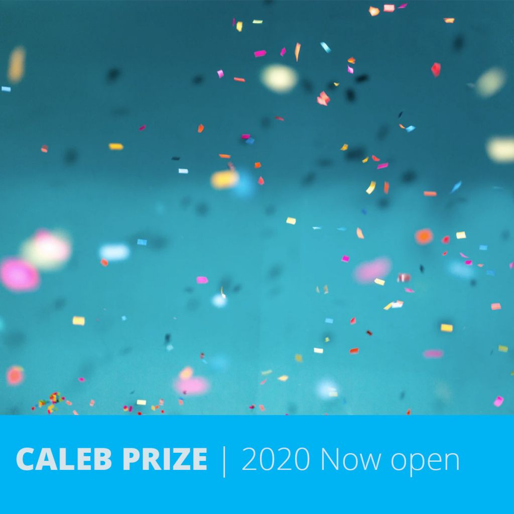 CALEB writing prize in 2020 is open for submissions